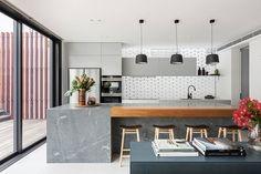 Современный дом в светлых тонах в Сиднее | Пуфик - блог о дизайне интерьера