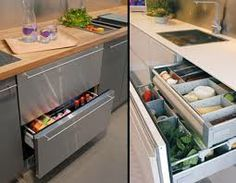 How to Choose the Best Refrigerator Style for Your Kitchen – Modern Home Kitchen Reno, New Kitchen, Kitchen Remodel, Kitchen Appliances, Kitchen Island, Kitchen Ideas, Kitchen Ware, Under Counter Fridge, Counter Top