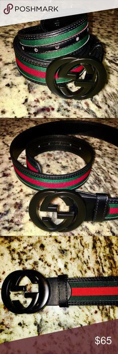 High Quality Gucci (Duplicated New Collection) This belt IS NOT AUTHENTIC, What you see is what you get. Really high quality duplicated Gucci from New collections. For a better communication and deal your can text me to my WhatsApp (518) 554 6326 Gucci Accessories Belts