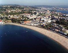 Praia de Santa Cristina. Oleiros. (A Coruña). Galicia. Spain.