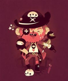 unusual pirate by Bisparulz.deviantart.com on @deviantART