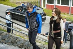 Crown Prince Frederik,Crown Princess Mary and their children visited Qaqortoq,Greenlad.