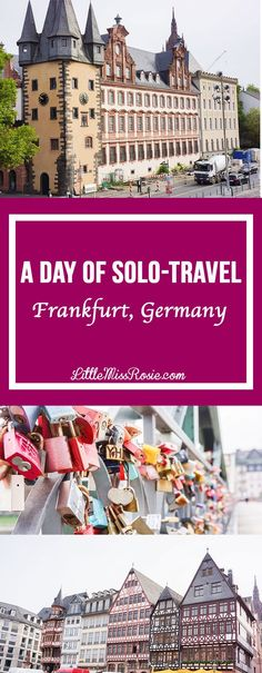 A day of solo-exploration around the beautiful town of Frankfurt, Germany! Also includes a Frankfurt 1-day itinerary PDF.