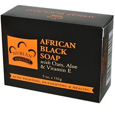 Nubian Heritage African Soap with Shea Butter Oats and Aloe Deep Cleansing 5 oz Black -- Check out this great product.