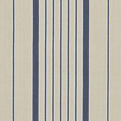 Antibes Stripe - Azure - Stripes - Fabric - Products - Ralph Lauren Home - RalphLaurenHome.com