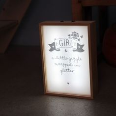 Set fille pour poster lightbox Lightbox, Parfait, Glitter, Poster, Home Decor, Child Room, Daughter, Decoration Home, Room Decor