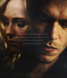 Klaroline. The Vampire Diaries.