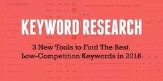 Do you want to rank higher in the Search Engines? Unsure which keywords to target? These 3 Free Keyword Research Tools will help you find the right keywords