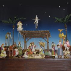 "Patience Brewster Nativity Scene - 28 Pc 10"" scale Item #82000 Our Price: $1,299.00 http://www.christmasnightinc.com/c55/c295/Patience-Brewster-Nativity-Scene-28-Pc-10-scale-p1440.html"