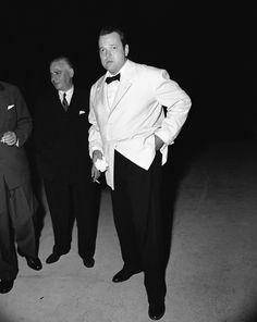 Orson Welles alla Biennale del 1951 (AP Photo) Fuente