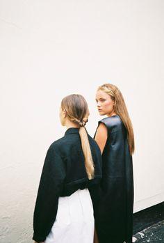Amy Heard & Chelsea Edge para Naomi Nwabueze Lookbook por Amy Lidgett ph.