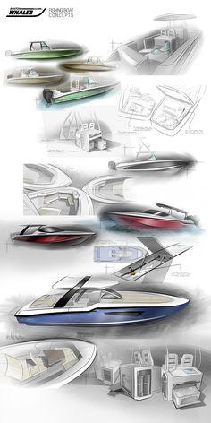 Marine Sketches #2 on Behance