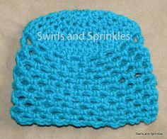 Swirls and Sprinkles: Free crochet Breath of Spring hat pattern