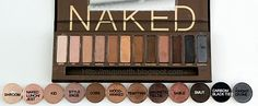 Urban Decay Naked Palette - Mac dupes