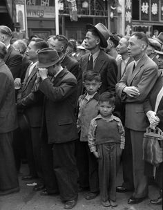 old vancouver chinatown photos   The Vancouver Chinese community marches through Chinatown during the V ...