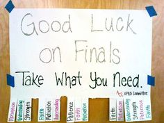 Finals Week Quotes Motivational. QuotesGram