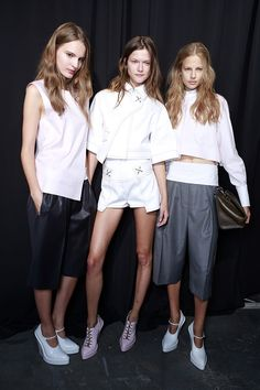 Alexander Wang backstage