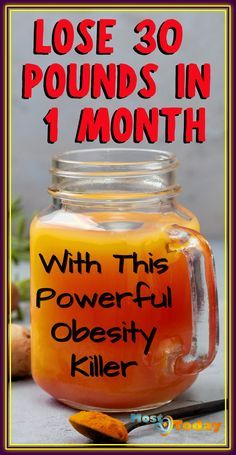 Lose 30 Pounds In 1 Month With This Powerful Obesity Killer Weight Loss Drinks, Weight Loss Smoothies, Fast Weight Loss, Healthy Weight Loss, How To Lose Weight Fast, Losing Weight, Best Diet Foods, Best Diets, Diet And Nutrition