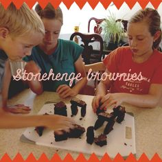 Recreating Stonehenge out of Brownies