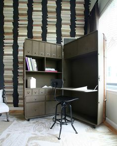Always like this pop-up office #creative #workspace