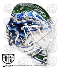 Image result for goalie mask art
