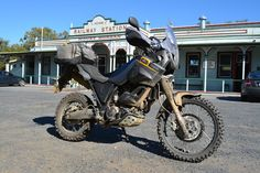 Yamaha XTZ660 Tenere review and video: http://motorbikewriter.com/yamaha-xtz660-tenere-review/