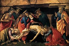 Sandro Botticelli Most Famous Paintings | Masters of Art: Sandro Boticelli (1445 1510) Botticelli Lamentation ...