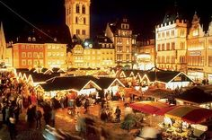 Love this Christmas market.  I would love to go back to Germany to see it again!  Google Image Result for http://www.easier.com/uploads/cache/thumbs/0/9/7/192/400x400/60583/trier-christmas-market.jpg