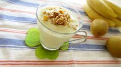 キウイ&バナナヨーグルトスムージー