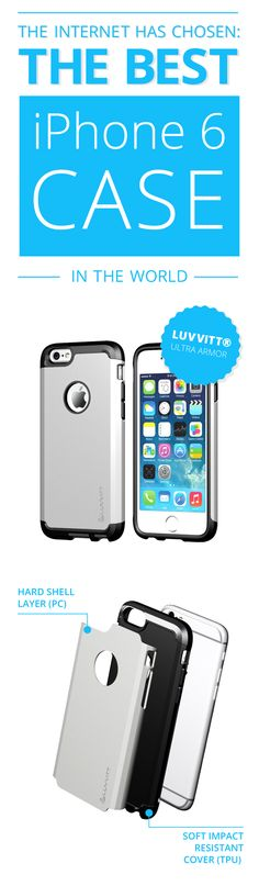 So you just got a fancy new iPhone 6, woohoo! Now it's time to make sure you keep it safe, shiny, and scratch-free. You'll love this Luvvitt iPhone 6 Case! #apple