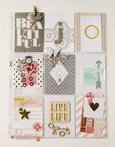 Our June 2015 Pocket Letter Swap - The Heidi Swapp Media Team | @MaggieWMassey for @HeidiSwapp