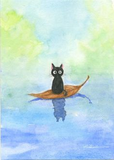 黒猫の絵(随時追加予定)|かつき|note