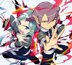 Artist: Yanyobot | Inazuma Eleven | Alpha | Beta