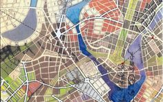 Jerry Gretzinger's Fantasy Map-Building Straddles Urban Planning and Art  Posted by Daniel Hunter