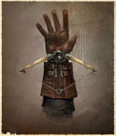 Hidden Crossbow from Assassin's Creed Unity