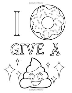 Amazon Emoji Coloring Book Of Funny Stuff Cute Faces And Inspirational Quotes