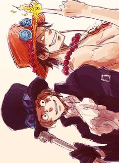 Ace and Sabo One Piece