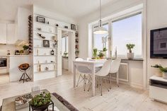 Jurnal de design interior - Amenajări interioare : 2 camere într-un apartament de 40 m²