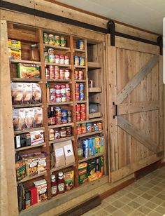 Are you looking for pictures for farmhouse kitchen? Browse around this site for cool farmhouse kitchen ideas. This unique farmhouse kitchen ideas seems to be entirely terrific. Rustic Kitchen Cabinets, Kitchen Pantry, New Kitchen, Awesome Kitchen, Kitchen Storage, Kitchen Ideas, Pantry Storage, Food Storage, Pantry Organization