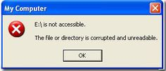 DriveIsNotAccesibleTheFileOrDirectoryIsCorruptedAndUnreadable-solution-how to-fix-repair-flash-drive-error-usb