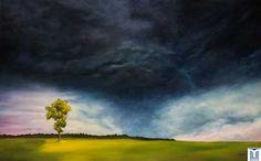 Defiance, original oils on canvas by Jesus F. Moreno