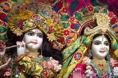 radha rani as the moon | Radha krishna literature devotional | Radha Baba of Gorakhpur