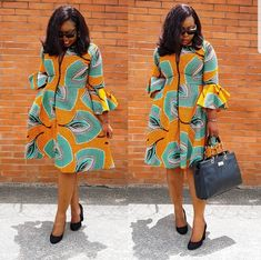 Beautiful Multicoloured African Dress I came across these beautiful African Print Dress. It is stunning and can be worn on many instances. I like to style it up or down depending on the occasion. Perfect for ALL OCCASSIONS and at a great PRICE Short African Dresses, Ankara Short Gown Styles, Ankara Gowns, African Print Dresses, Short Gowns, African Fashion Ankara, Latest African Fashion Dresses, African Print Fashion, Africa Fashion