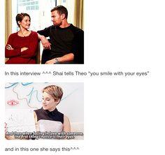 Shailene and Theo... <3