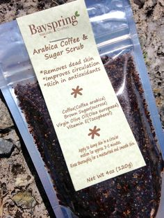 Enjoy a full body coffee scrub for a smooth and moisturised skin.