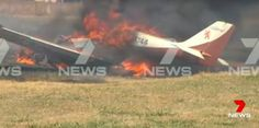 PHOTO Private VM-1 Esqual aircraft crashes at Wangaratta Airport, Australia after engine failure. All 2 escaped unharmed. (27-NOV-2016).