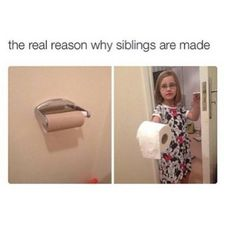 Siblings funny truth