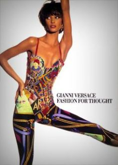 Gianni Versace 'Fashion for thought' 1991