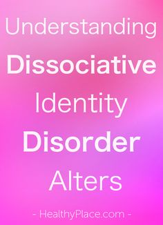 "Dissociative Identity Disorder Alters ""What are dissociative identity disorder (DID) alters? DID alters are complete personalities living within one person. Learn about DID alters and their types."" Identity Identity may refer to: Mental Health Training, Mental Health Stigma, Mental Health Disorders, Mental Illness, What Is Anxiety, Deal With Anxiety, Disassociative Identity Disorder, Psychological Theories, Psychological Horror"