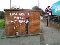 Banksy in London | explore street art of the world
